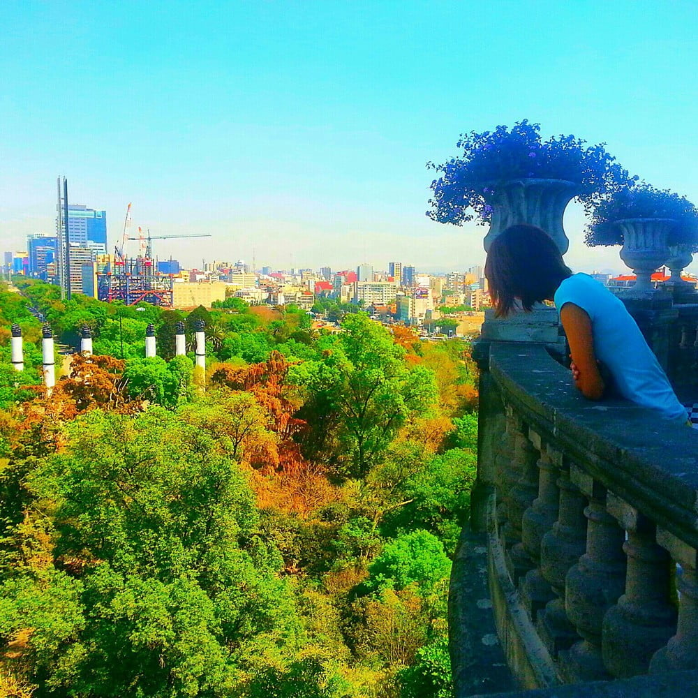 A view from Chapultepec Castle