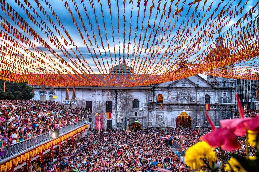 Sto Nino Basilica de Cebu from the Pligrim's Center