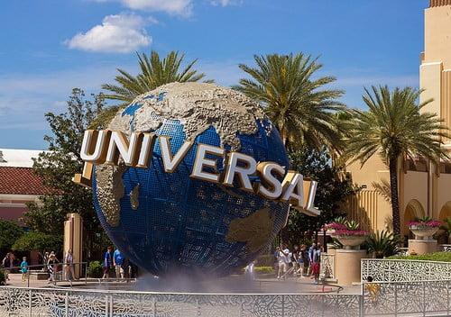 universal studios globe photo